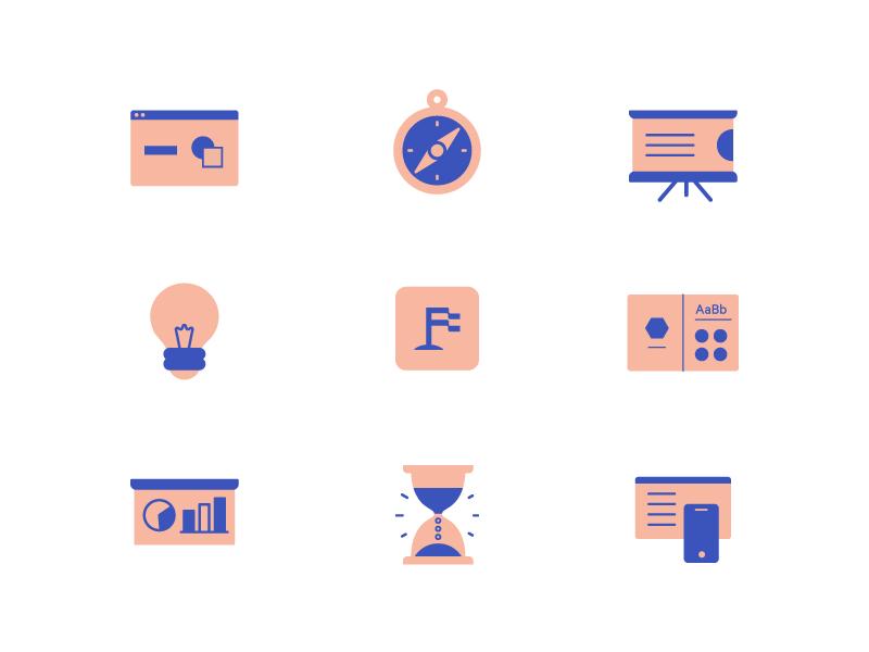 Upfounder   Iconography logo ui founder up entreprenuer startup illustration icons