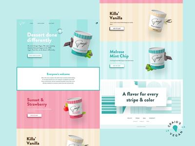 CraigsVegan   Web Design