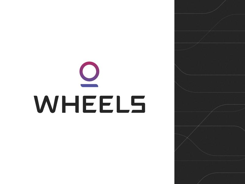 Wheels | Logo & Logotype font typography brand identity brand logotype logo