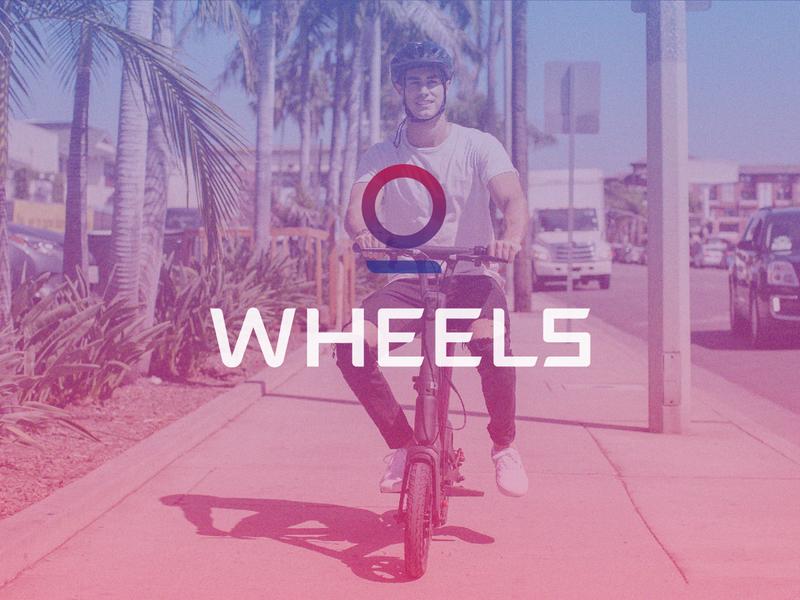 Wheels | Brand & Photography bike ride scooter bike icon identity typography branding branding design logo brand wheels