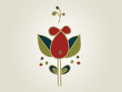Sugar Blossom Doula Services Logo vector illustrator illustrative logo illustration branding blossom brand identity brand identity icon doula logo