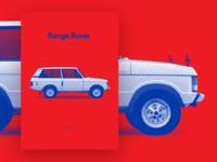 Range Rover - 1st generation [poster]