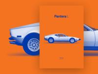 De Tomaso - Pantera L [poster]