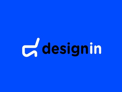 Design in - Logo Design typography branding logo brand identity design