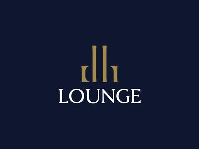 DH Lounge - Logo Design
