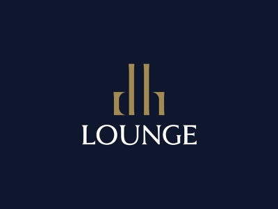 DH Lounge - Logo Design design branding logo brand identity design
