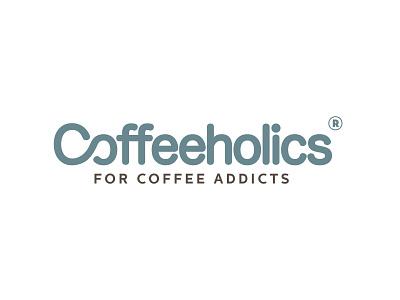 Coffeeholics - Logo Design coffee logo design branding brand identity design