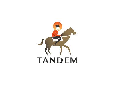 Tandem - Logo Design brand geometric logodesign illustration logo branding brand identity design