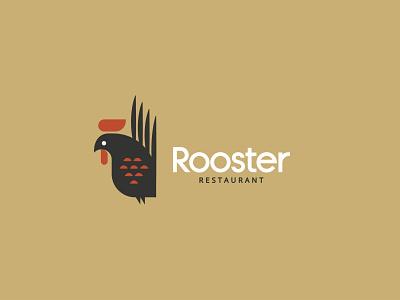 Rooster - logo design brand identity illustration logodesign typography geometric brand design logo branding brand identity design