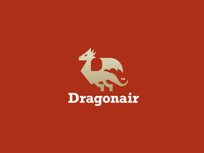 Dragonair - logo design brand identity brand identity designer brand geometric logodesign illustration logo design branding brand identity design