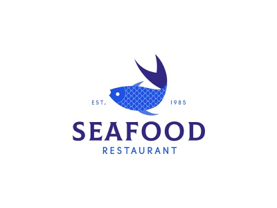 Seafood - logo design brand identity designer brand identity brand logodesign geometric illustration design branding logo brand identity design