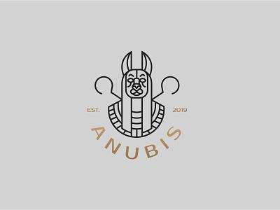 Anubis - logo design illustration brand identity designer brand identity brand logodesign geometric logo design branding brand identity design