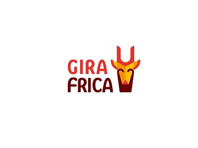 Girafrica  - logo design illustration brand identity designer brand geometric brand identity logodesign design branding logo brand identity design