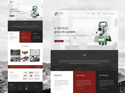 UI & UX Website Design