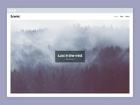 Scenic – WordPress Portfolio Theme