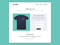 Precrafted Mailing List