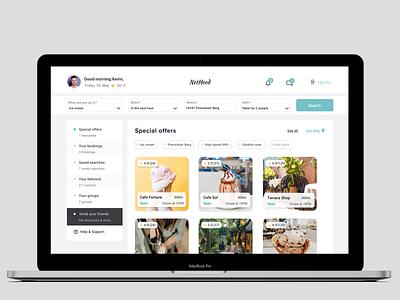 NetHood website visual design ui design ux  ui branding product design ux design ui design web design web