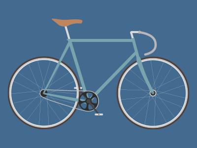 Fixie fixie bike bicycle illustration