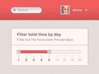 Day filter - Slider