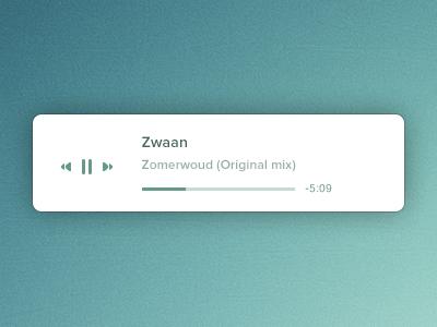 Mini player music player mini minimal simple