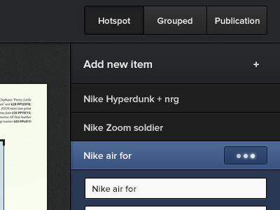 Sidebar sidebar cms editor saving user feedback buttons list accordion tabs tab menu button