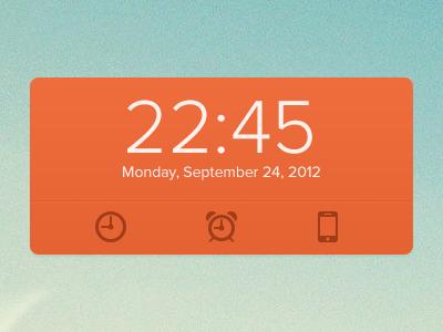 Clock widget playoff widget freebie download clock playoff alarm devices time date