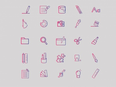 Art Icons icon design ui icons art icons free icons icons ui logo vector design free vector graphicout graphic behance typography graphic design graphic out