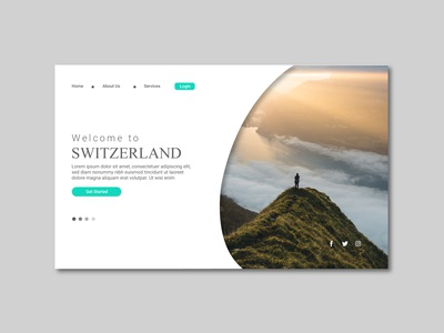 Travel Landing Page landing page travel landing page travel web template web design website user experience userinterface user interface free vector typography behance vector graphicout graphic design graphic out