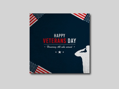 Veterans Day Post branding typography behance design vectors graphic free free vector vector social media design poster veterans day graphic design graphic out
