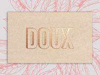 DOUX - Logo