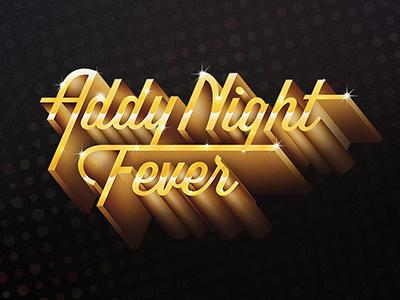 Disco Chrome Text 2 el paso typography addys 70s bling chrome disco gold retro type