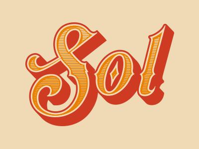 Sol - Type design type western texas el paso sun sol