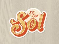 EP Got Sol Sticker