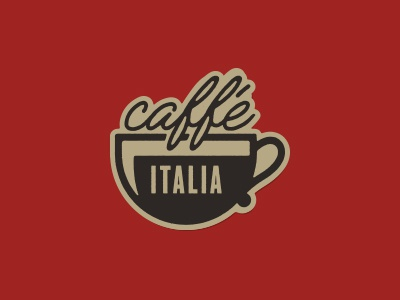 ¡Caffé Italia! sticker italy coffee latte italia caffe