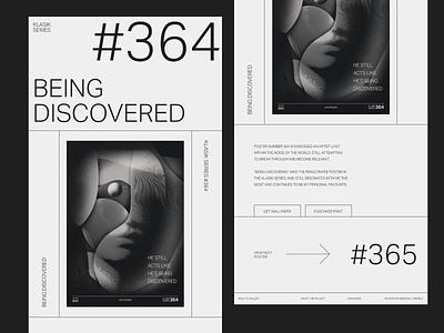 Klasik Series - Web Gallery Exploration editorial exploration bold modern whitespace minimal layout web gallery poster typography adobe xd web minimalist digital design