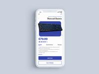 E-Commerce concept - Single Product view
