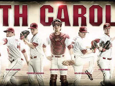 2013 South Carolina Baseball Poster