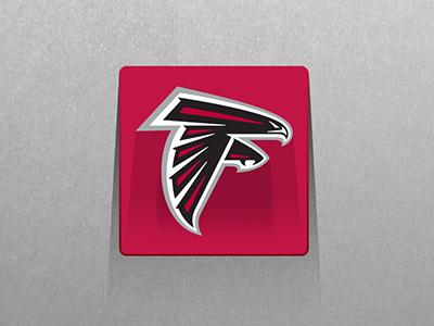 Atlanta Falcons Long Shadow