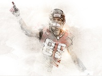 Tony Gonzalez Water Color