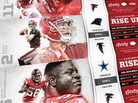 Atlanta Falcons Season Ticket Design