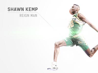 Shawn Kemp - Reign Man