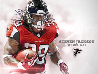 Steven Jackson Falcons Mock