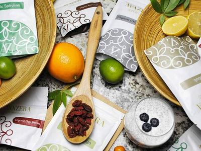 Superfood Packaging healthy food package design packaging package healthy superfood