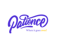 Patience Calligraphy LOGO