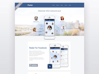 Radar for facebook 1x
