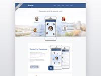 Radar For Facebook Website!