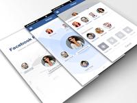 Radar for Facebook Screens