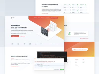 Landing Page Redesign for Sider