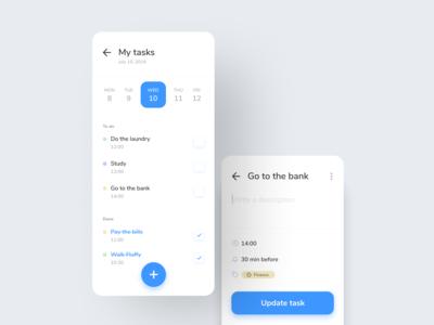 Daily UI 042: ToDo App