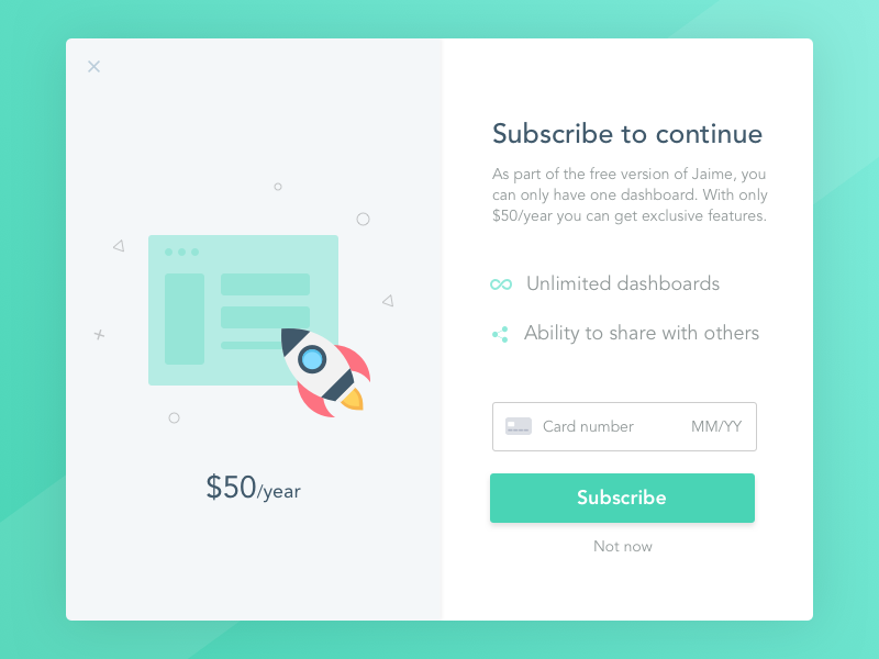 Upgrade to get exclusive features pricing payment features checkout query website web ui upgrade subscribe desktop app
